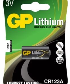 GP Foto Lithium Batteri CR123