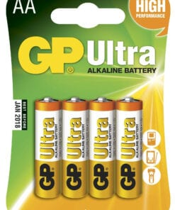 GP Ultra Alkaline batterier