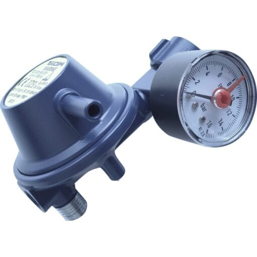 Marineregulator med manometer